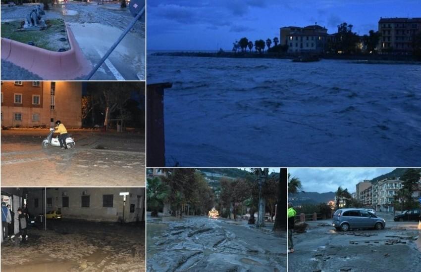 """Ventimiglia in ginocchio per l'alluvione, il sindaco Scullino: """"Danni per almeno 50 milioni"""""""