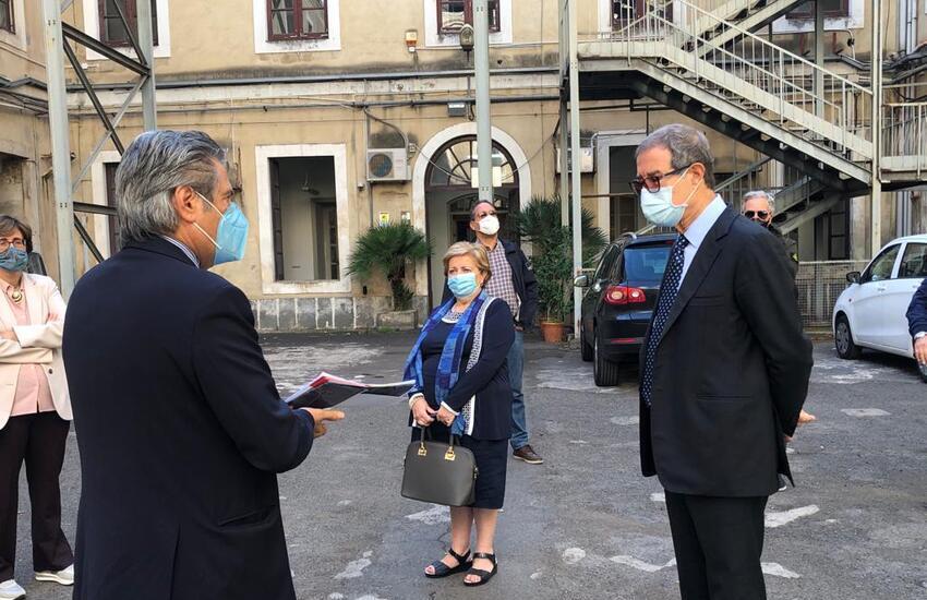 Catania, ex Manifattura tabacchi, partono i lavori per il Museo archeologico regionale – Foto gallery