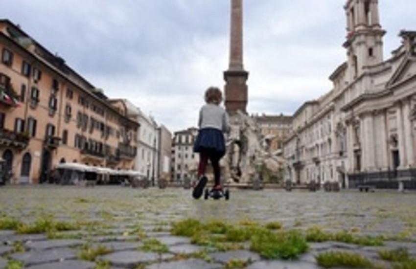 """Roma, ai Musei Capitolini la mostra """"LOCKDOWN ITALIA visto dalla Stampa Estera"""""""