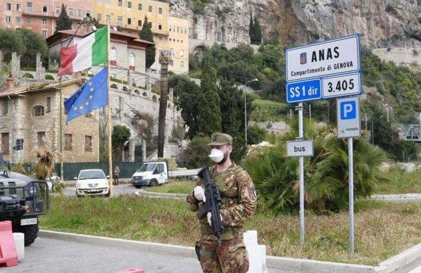 Covid: controlli alla frontiera di Ventimiglia con coprifuoco Francia