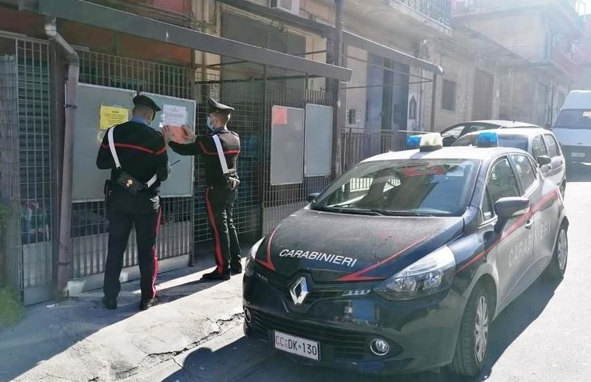 Palagonia, controlli anti-covid, chiusura temporanea di una gastronomia di via Palermo