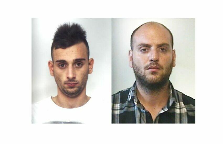 Palagonia, arrestati per una rapina e tradotti in carcere entrambi