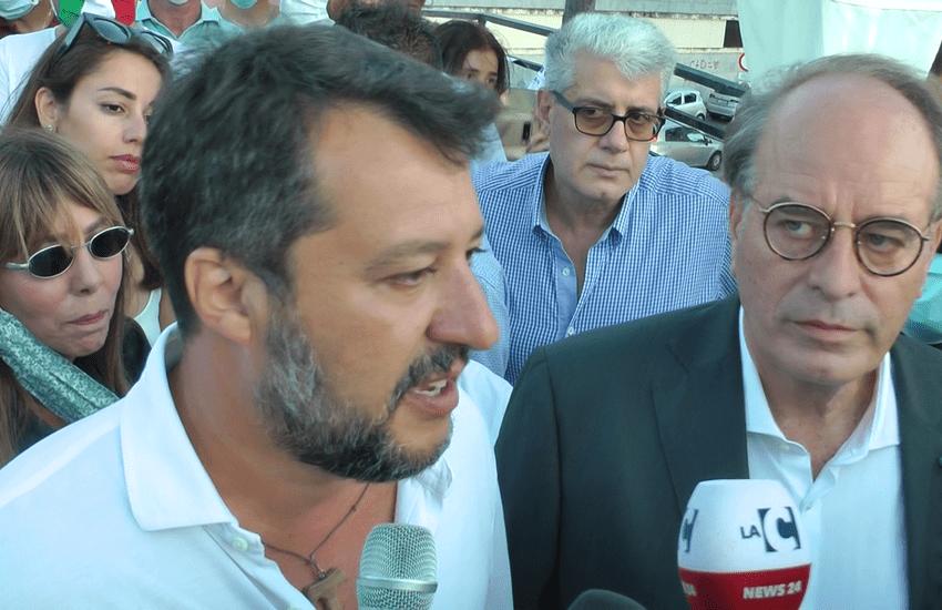 Regione, Salvini incontra i vertici della Lega Calabria per programmare il futuro