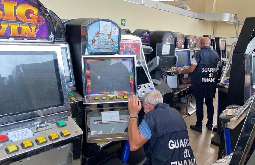 Scacco ai re delle slot-machine. Confiscati beni per 3.5 milioni di euro