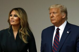 Melania, addio a Don?