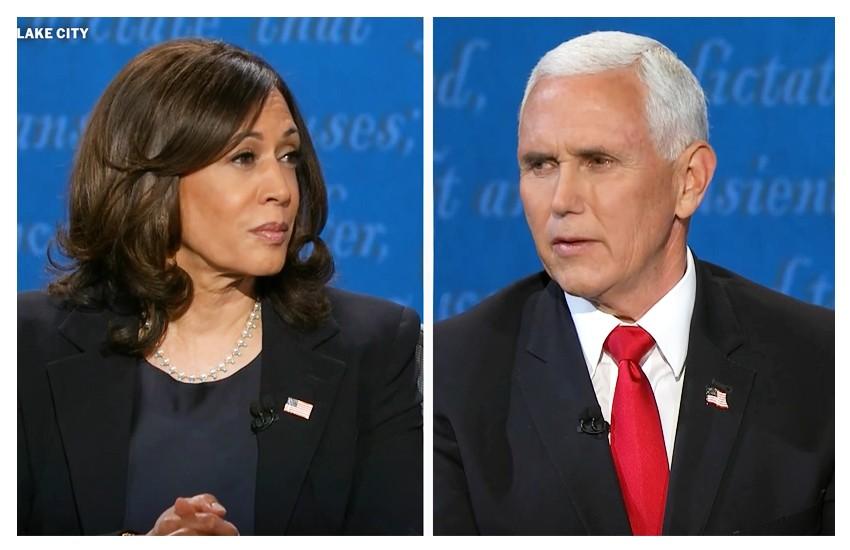 Dibattito Pence-Harris, ovvero lui, lei e la mosca