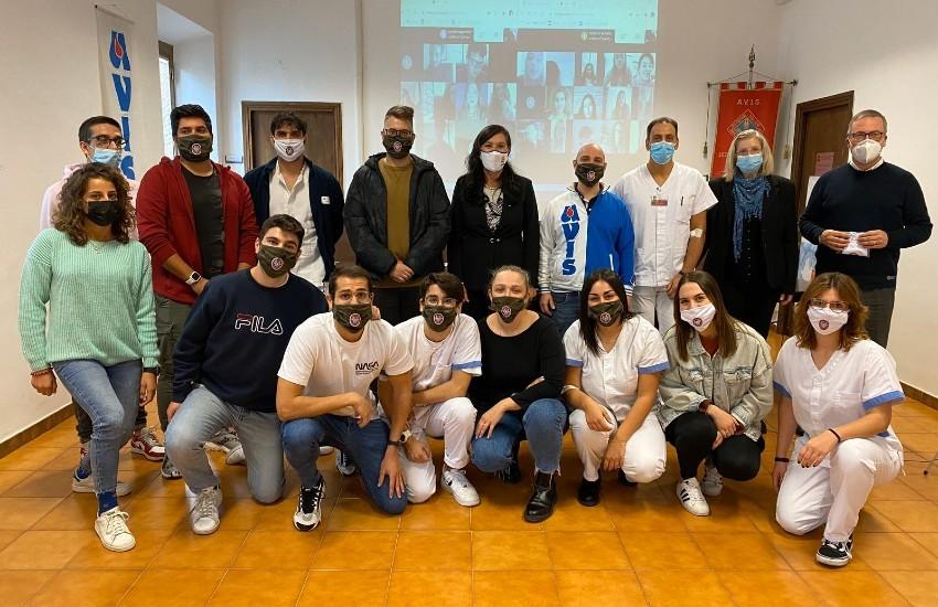 I futuri infermieri di Latina aprono l'anno accademico donando il sangue