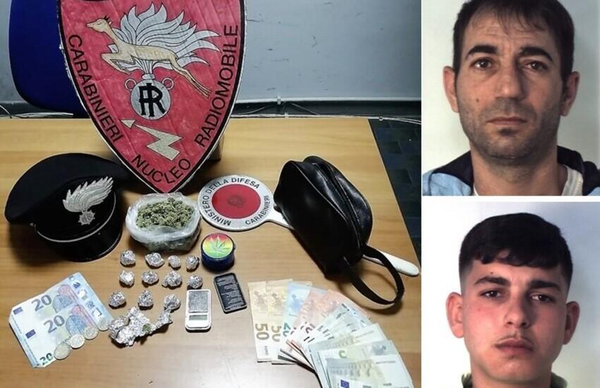 Catania, avevano piazzato marijuana ad un minorenne, due arresti in via San Jacopo