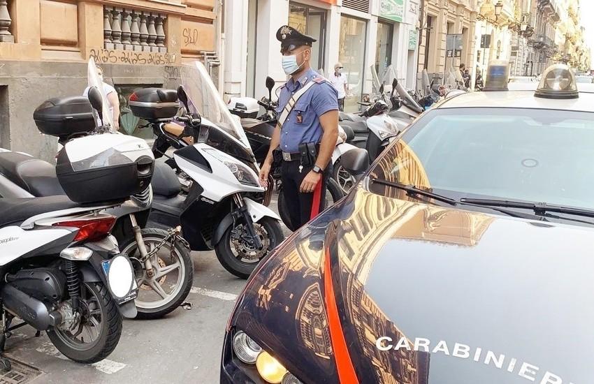Catania, Brigadiere dei Carabinieri in pensione sventa furto di uno scooter