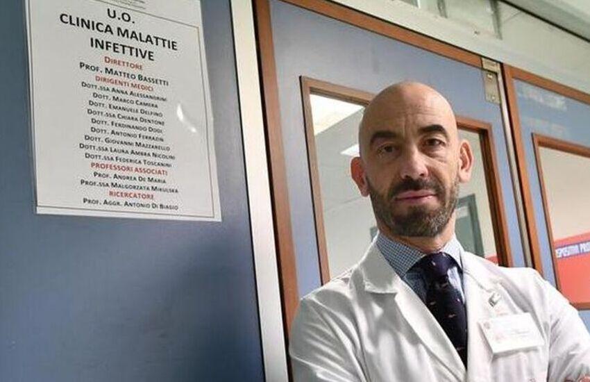 """Covid Genova, Bassetti: """"Al San Martino meno del 60% di posti letto covid occupati"""". In Liguria il numero più basso di casi"""