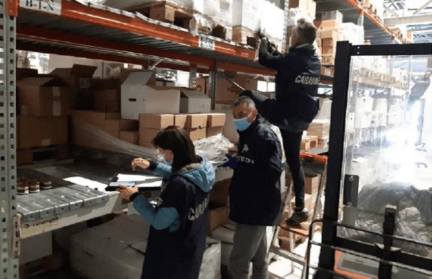 Sulmona, controlli agroalimentari: prodotti privi di etichettatura e non tracciati