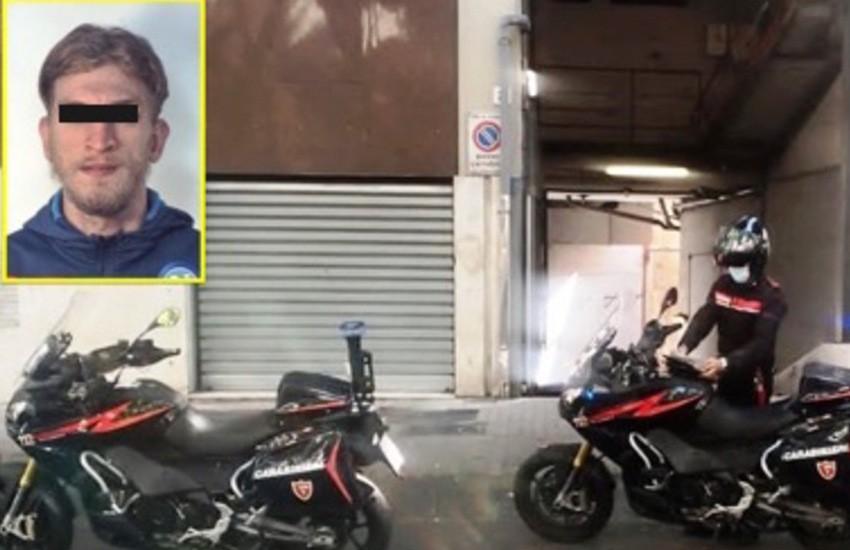 Catania, stava rubando uno scooter in via Sant'Euplio, bloccato da un carabiniere fuori servizio