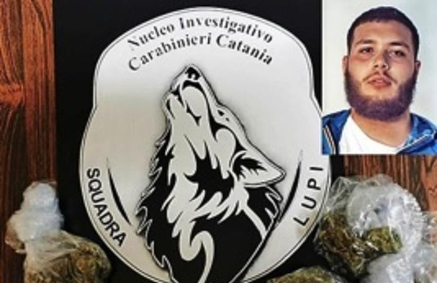 """Catania, arrestato a San Cristoforo uno spacciatore già coinvolto nell'operazione """"Stella cadente"""""""