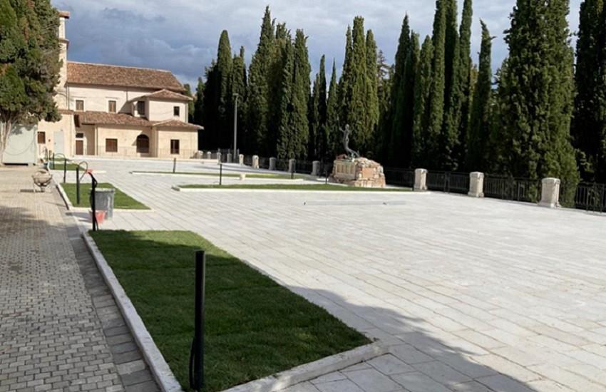Completati lavori nuova pavimentazione cimitero monumentale