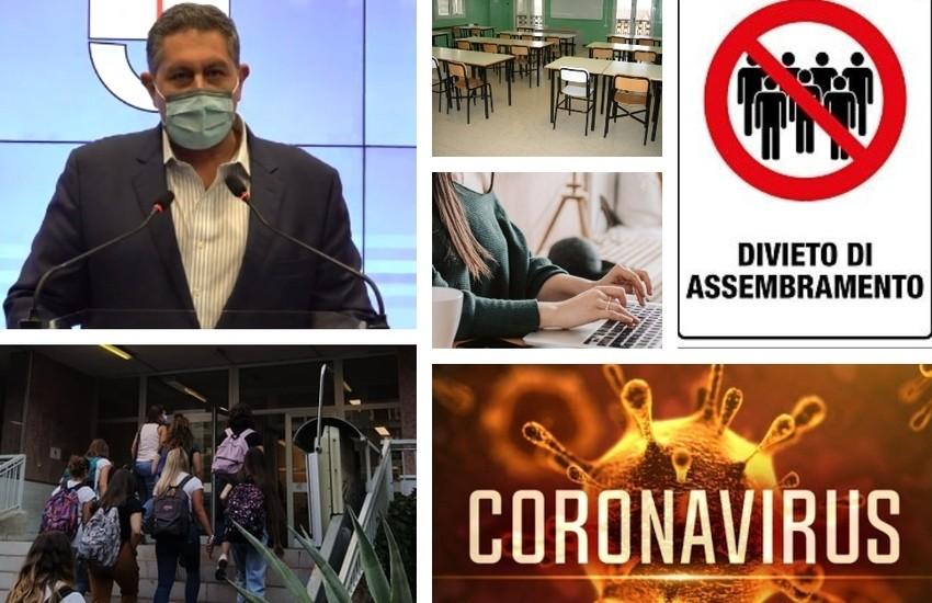 Covid, coprifuoco in 4 aree di Genova e DAD per le superiori: divieto totale di assembramento in tutta la Liguria
