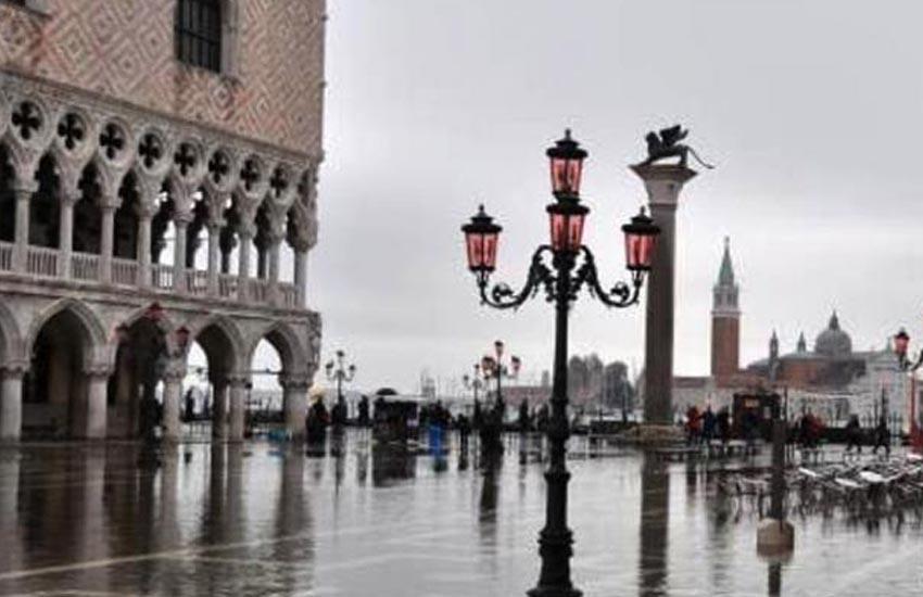 Venezia, Acqua alta: prevista per giovedi 15 ottobre una marea di 135 centimetri
