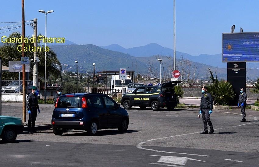 Catania, controlli anti-covid della Guardia di Finanza, 8 sanzionati