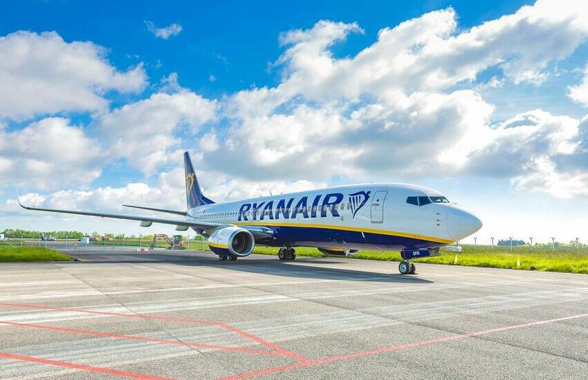 Ryanair, nuova rotta su Bari da Verona dal 1 dicembre