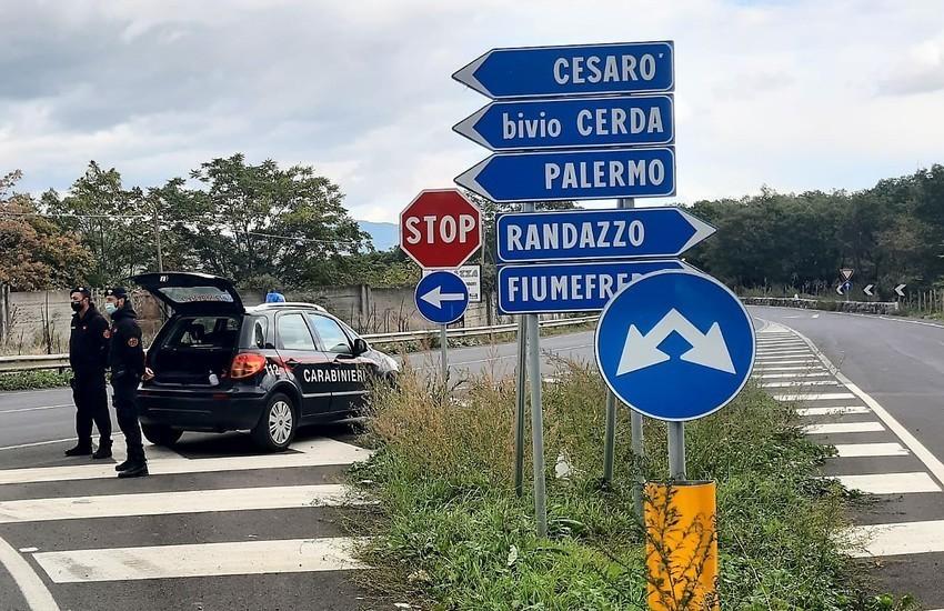 Randazzo, i Carabinieri denunciano un 32enne positivo al Covid per inosservanza dell'isolamento domiciliare