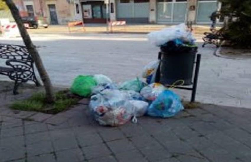 lotta all'abbandono dei rifiuti