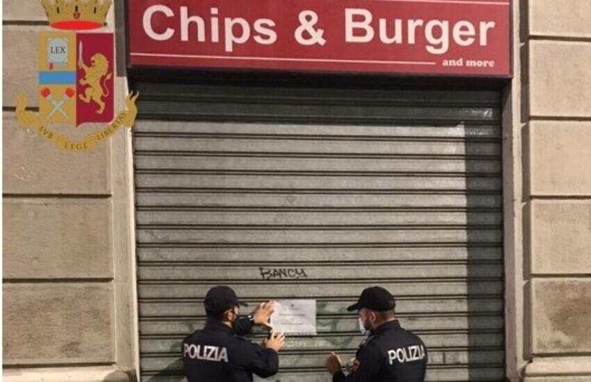 """Navigli, il Questore sospende la licenza al """"Chips And Burger"""" per 15 giorni, perché frequentato da pregiudicati"""
