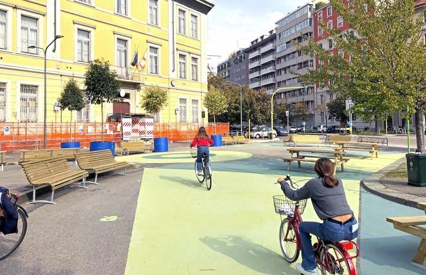 Milano, più bella, sicura e verde, piazza Sicilia riqualificata – Foto gallery