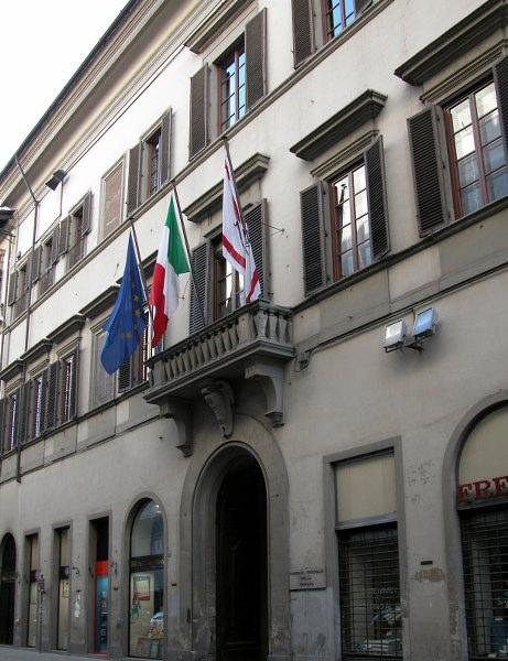 Palazzo Panciatichi, Via Cavour, 2 sede consiglio regionale della Toscana