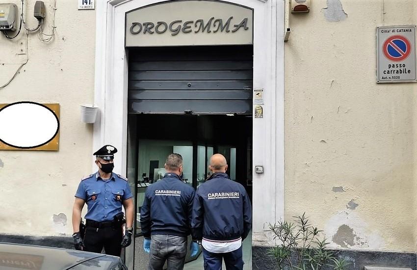 Catania, rapina a Orogemma di via Umberto, preso un 22enne catanese
