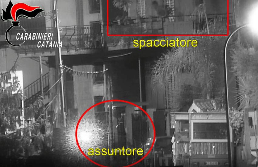 """Operazione """"A Fossa"""" nel Catanese, 11 arresti. Sgominate tre piazze di spaccio – Foto Gallery"""