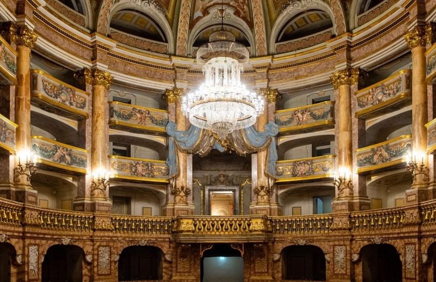 3 giorni di apertura straordinaria del Teatro di Corte. Ecco quando