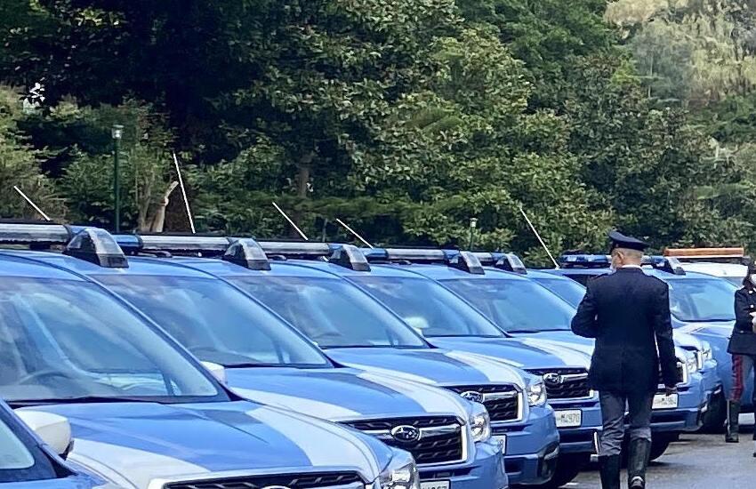 Autostrade Siciliane consegna 22 autovetture alla Polizia  stradale