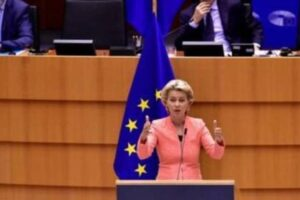 "Commissione europea, von der Leyen: ""arriva il Green pass digitale"""