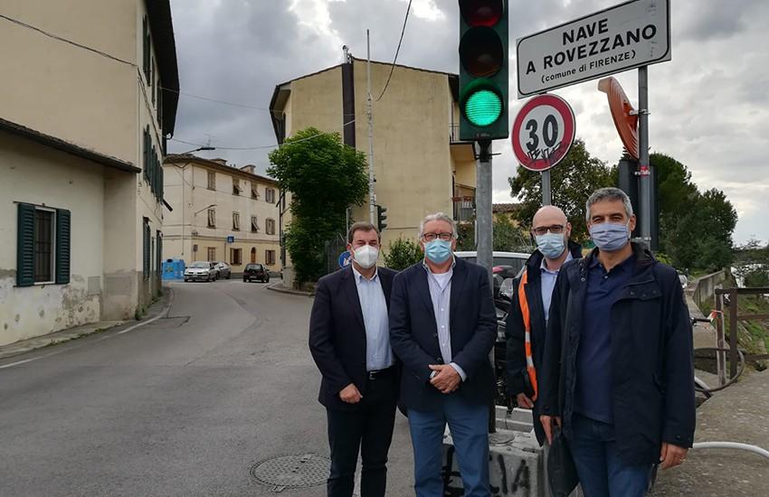 Nuovo semaforo in via Villamagna, maggior sicurezza per i cittadini