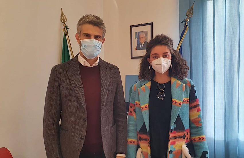 Villamarina: il sindaco Ferrari incontra Maddalena Masini