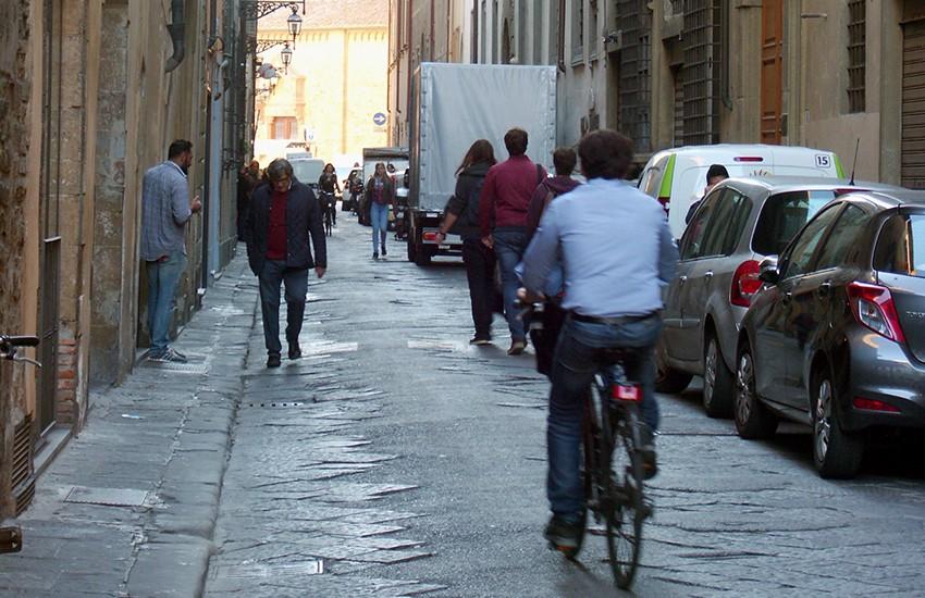 Borgo Santa Croce e via Magliabecchi pedonali: saranno 2 aree di tipo B