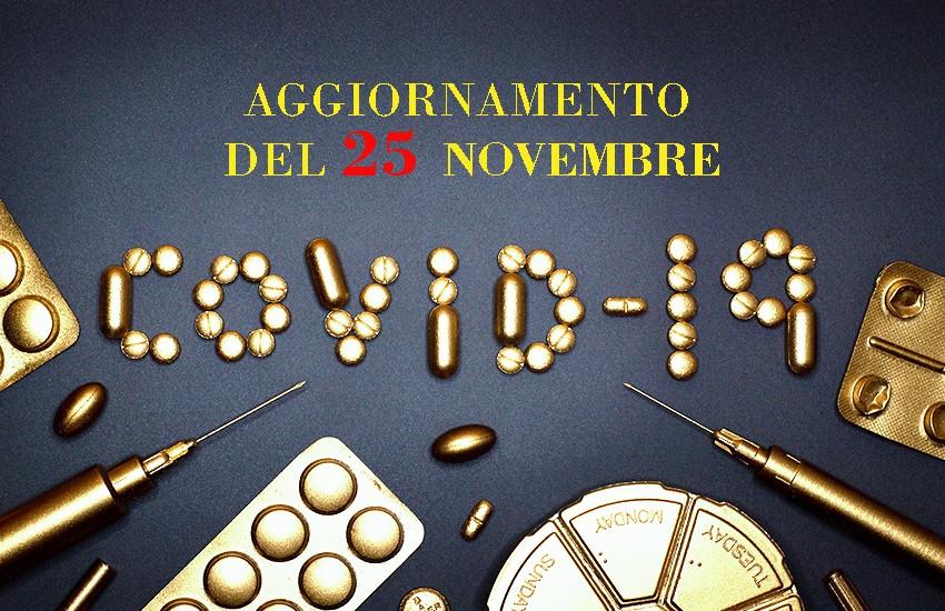Positivi del 25 novembre