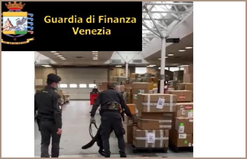 GUARDIA DI FINANZA VENEZIA: SEQUESTRATI 1,5 KG DI ANFETAMINE E ARRESTATO UN CITTADINO ITALIANO
