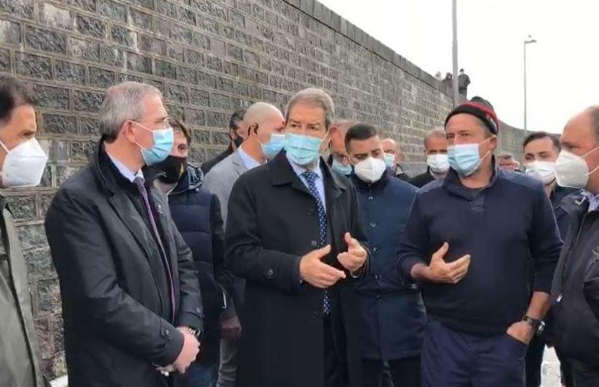 Il presidente Musumeci a Messina per la Zona falcata