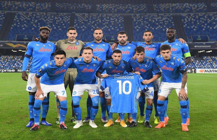 Napoli-Rijeka 2-0, vittoria e primato in Europa League nel Maradona Day