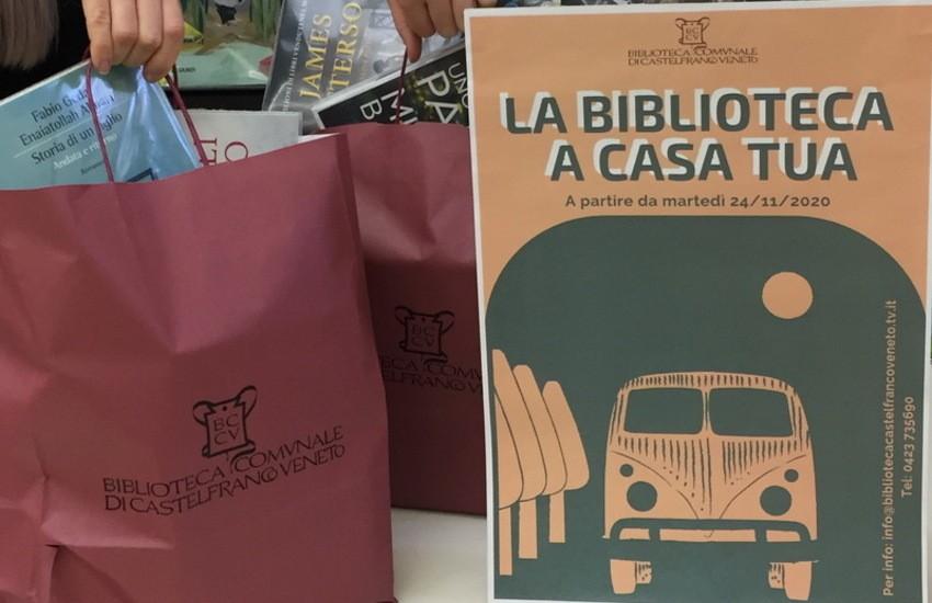 CASTELFRANCO LA BIBLIOTECA IN CLASSE E A CASA TUA