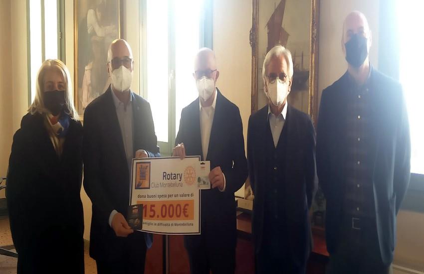 Consegnati 15mila euro ai Servizi sociali