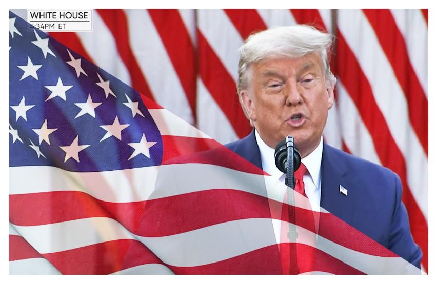 Trump ritorna a parlare in pubblico e minaccia New York. Biden ottiene 306 voti elettorali