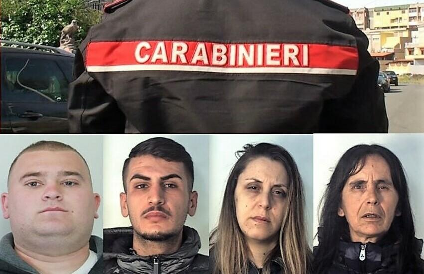 Via Pantelleria, aggredirono i Carabinieri durante un arresto. Indagati in sei