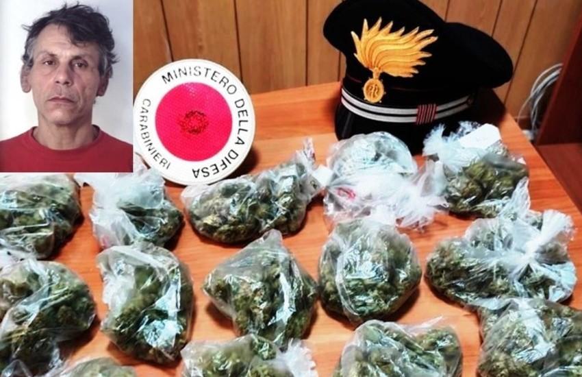 Catania, beccato con la droga tenta la fuga ma viene arrestato
