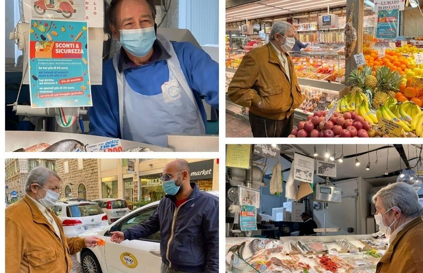 Covid, bonus e spesa scontata per gli over 65: ecco dove in Liguria