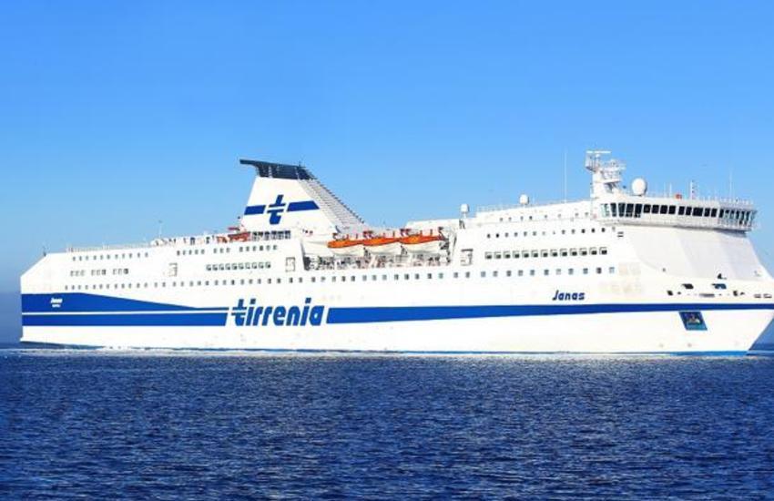 Tirrenia chiude le tratte con la Sardegna dal 1 dicembre
