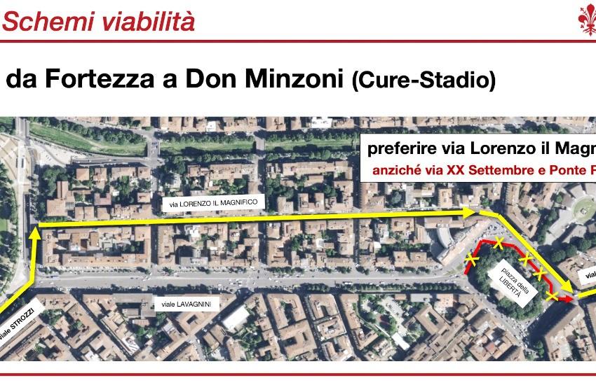 Stanotte confermata la fase 2 delle modifiche alla viabilità per la tramvia in zona piazza della Libertà