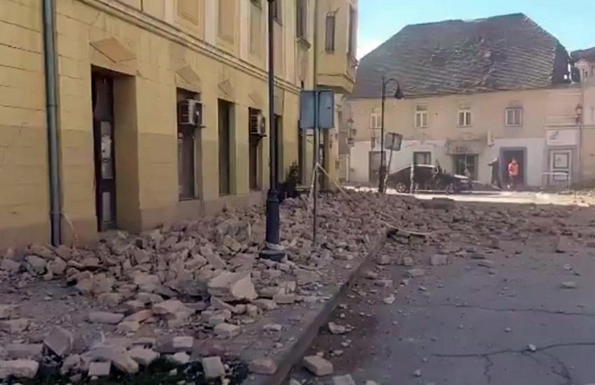 Croazia, il giorno dopo. Almeno 7 vittime per il terremoto più forte di sempre nel Paese