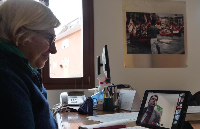 Assessori comunali dei capoluoghi veneti in videoconferenza