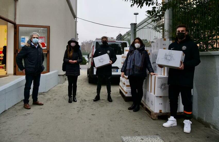 Solidarietà: Consegnati 280 kg di pasta alla Casa dell'Ospitalità